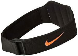 aef8273ca Nike Structured Training Belt 2.0 Weight Lifting Gym Belt,Black ...