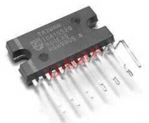 3PCS TDA1552Q Encapsulation:HSIP-13,2 x 22 W BTL stereo car radio