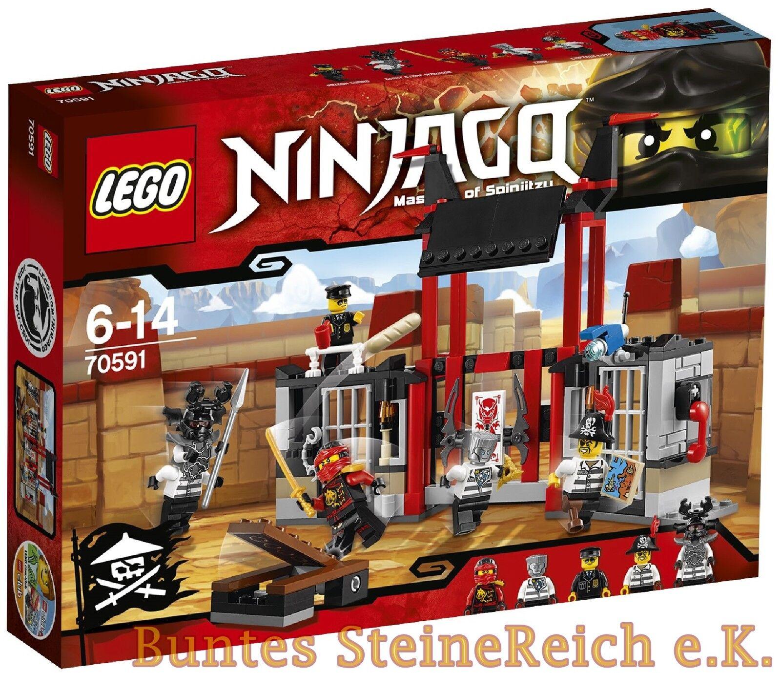 LEGO® Ninjago  70591 Kryptarium-Gefängnisausbruch & 0.- Versand & NEU & OVP  | Erlesene Materialien