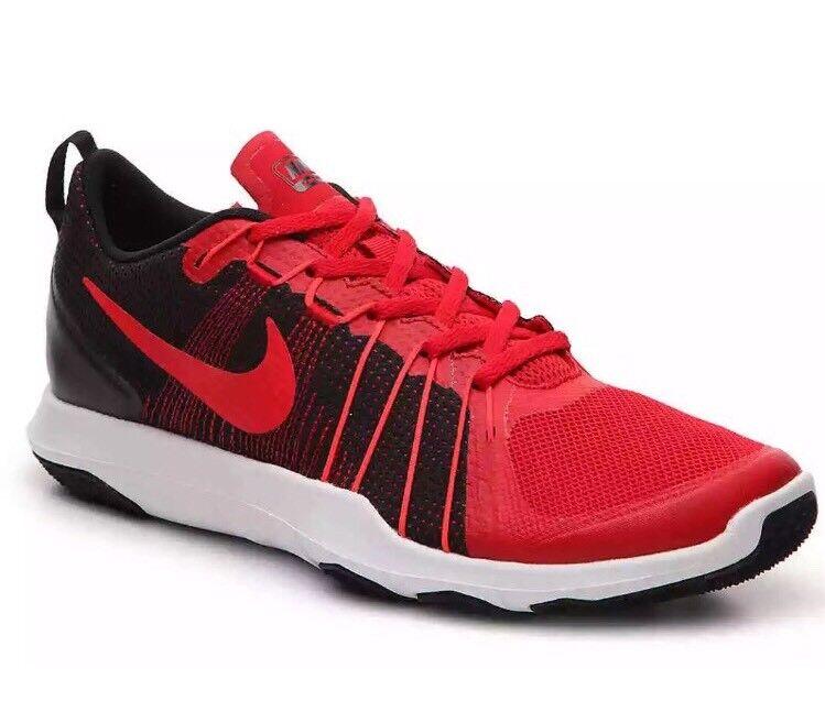 Nike Flex Train Aver Men's Shoes Sneakers Sz 14 Red / Black 831568 600