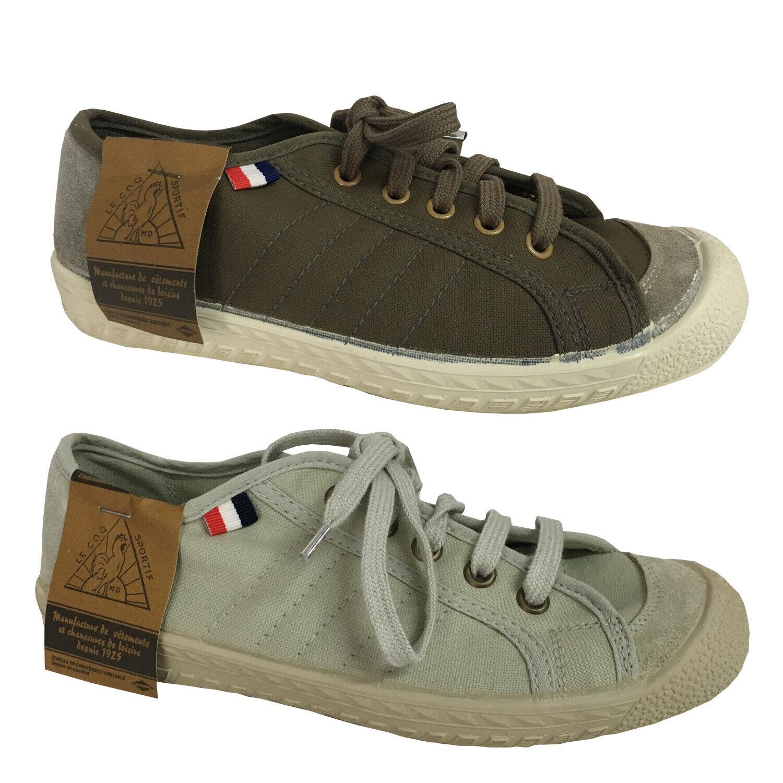 scarpe da ginnastica donna le  Coq Sportif Canvas and Rubber Sole Model Worker  80% di sconto