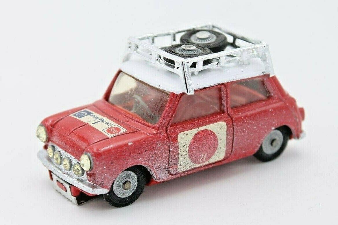 CORGI TOYS  MINI COOPER  1 43  RAC Sun rally  versione Dirt