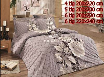 Ehrlich Bettwäsche Bettgarnitur Bettbezug 100% Baumwolle Kissen Decke GÜldeste Varianten Bettwaren, -wäsche & Matratzen