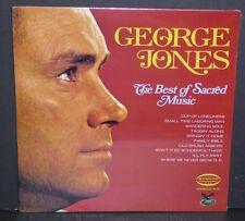 George Jones The Best Of Sacred Music NEW SEALED vinyl LP record Gusto Musicor
