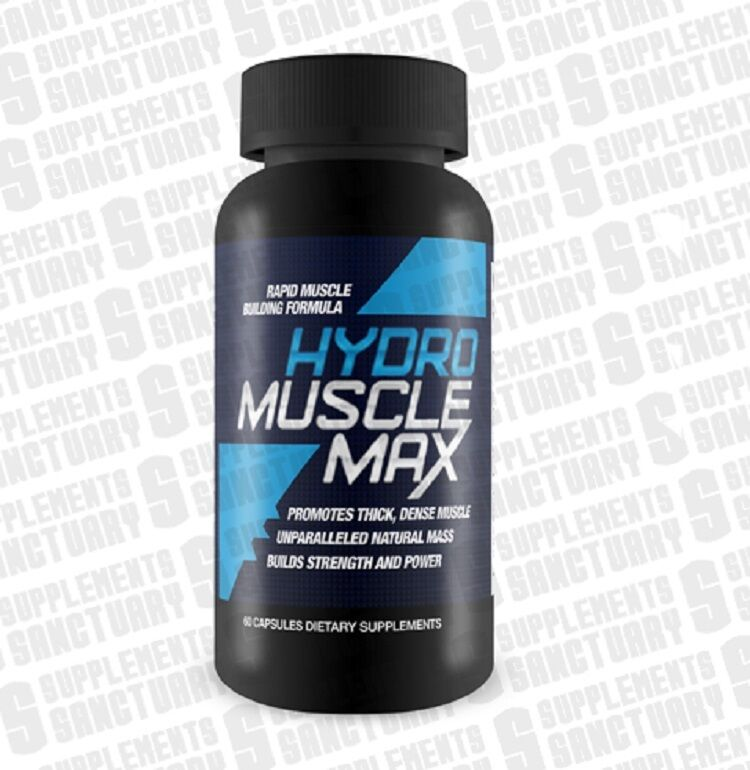 Hydro muscle max 60 kapseln,bodybuilding,training,fitness,