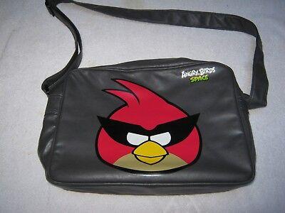 Acquista A Buon Mercato Angry Birds Grigio Messenger A Tracolla Scuola Laptop Borsa Da Viaggio Borsa A Tracolla-mostra Il Titolo Originale