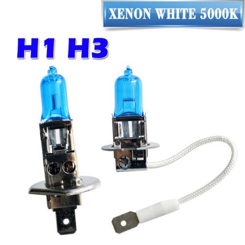 H3 XENON WHITE Headlight Bulbs Mitsubishi Delica Starwagon H1