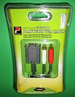 Microsoft Xbox 360 Vga Cable - Factory Sealed Free Shipping
