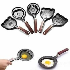 Mini Cartoon Shape/Design Non Stick Egg Frying Pan for Children (1 piece )