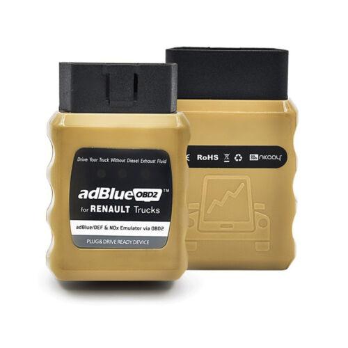 AdblueOBD2 DEF Nox Emulator Adblue OBD2 Plug/&Drive Ready Device For 8 Trucks