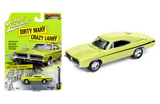 Johnny Lightning Dodge Charger RT 1969 Dirty Mary and Crazy Larry JLCP6000 1/64