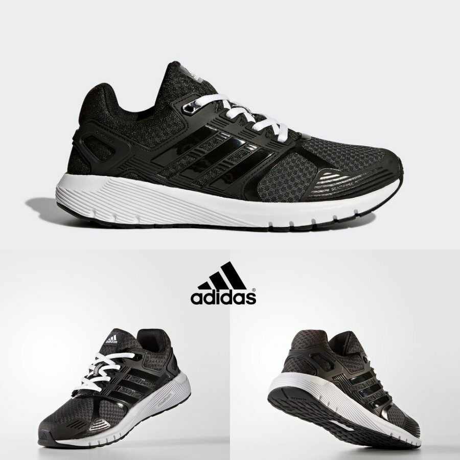 Adidas Duramo 8 Runner Shoes Athletic Running Black BA8086 SZ 4-13
