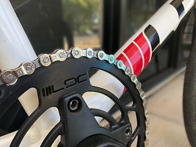 """RANT MAX 410 BMX BICYCLE CHAIN 1//8/"""" 1//2 LINK FIT SHADOW SUBROSA SE HARO BLUE"""