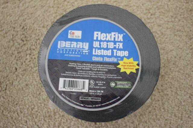 1.89in X 120yd. FlexFix Metallic UL181B-FX Listed Film Tape 48mm X 109.7M