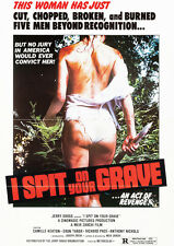 I Spit On Your Grave Repro Film POSTER