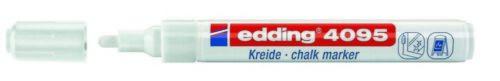 10er-Sparpack edding 4095 weiß Kreidemarker 2-3 mm