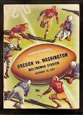 Vintage 1951 Oregon State at CALIFORNIA Golden Bears college football program