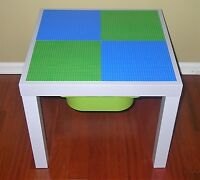 Lego Classic Table With Storage Brick Building Table