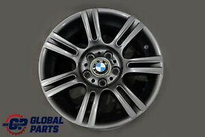 BMW-3-Series-E90-Grey-Rear-Wheel-Alloy-Rim-M-Double-Spoke-194-17-034-8-5J-ET-37