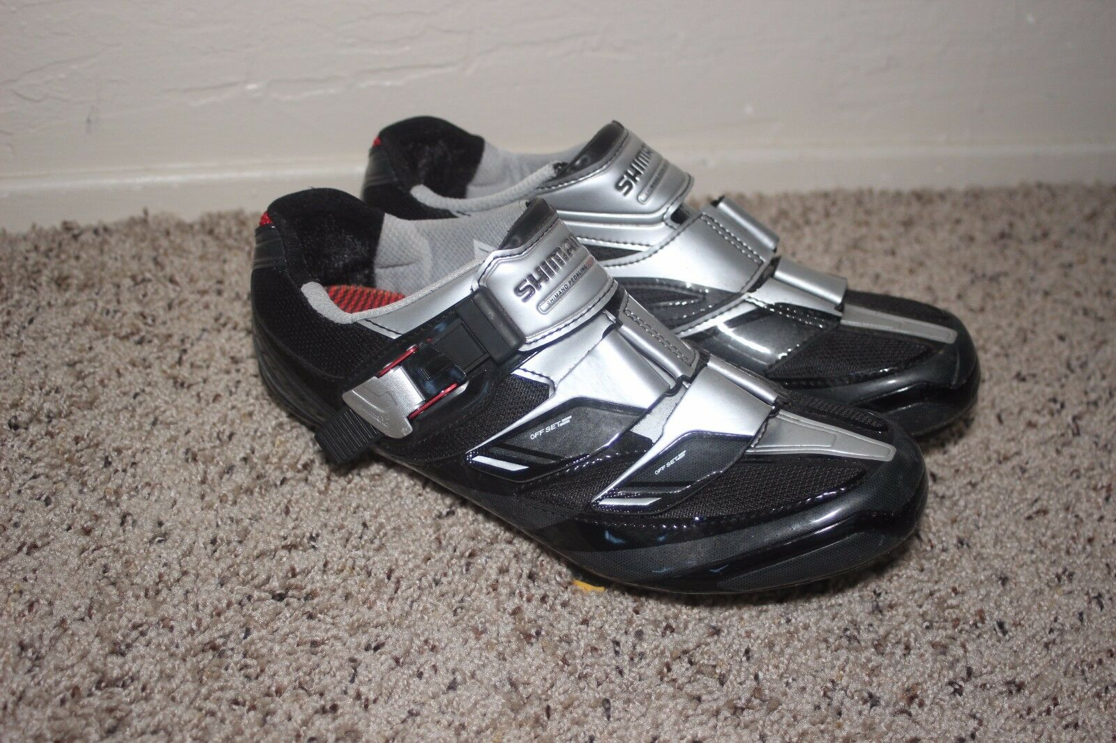 Shimano Elite Racing Cycling shoes SH-R 191 L - US 8.9 Carbon. w  cleat