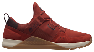 6a65051ef5 Image is loading NEW-NIKE-TECH-TRAINER-Q4775626-Dune-Red-Burgundy-