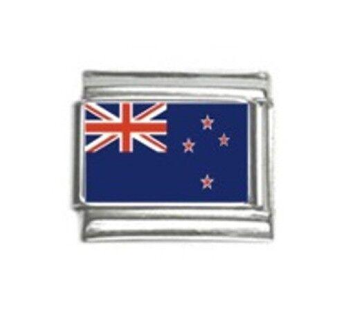 Italian Charms Charm New Zealand Flag