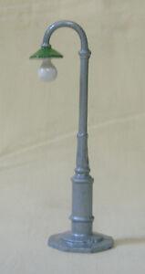 Electric Light Standard, gooseneck street light lamppost, Reproduction Johillco