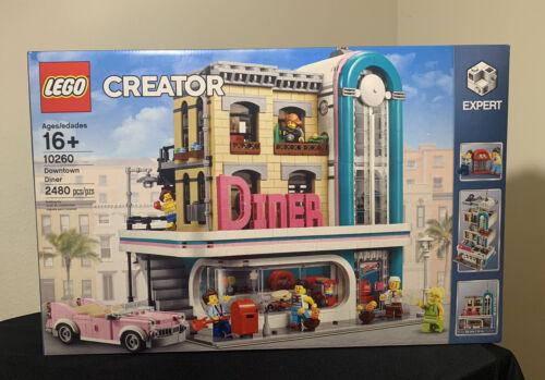 ✅ LEGO Creator Expert Modular Building Set 10260 Downtown Diner NEW Sealed Box