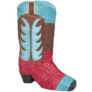 Cowboy-Boot-Pinata-Fun-Game-For-a-Wild-West-Party-Kids-Activities