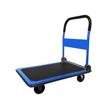 Hand Truck Push Platform Folding Dolly Cart 330 Lb Foldable Hand Truck Folding
