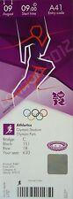 TICKET Olympia London 9.8.2012 Leichtathletic Athletics A41