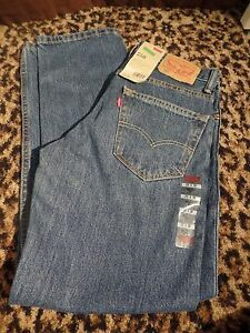 Levis-Mens-550-Relaxed-Fit-Denim-Jeans-Waist-W-29-Length-L-30-NEW-58-NWT