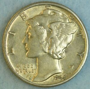 CIRCULATED-1944-D-Silver-Mercury-Dime-90-Silver-Fast-Shipping-76795
