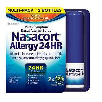 Nasacort Nasal Spray, 240 ct