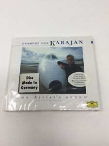 THE-ARTIST-039-S-ALBUM-HERBERT-VON-KARAJAN-CD-MADE-IN-GERMANY