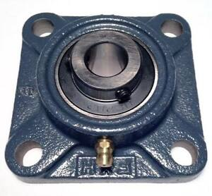 "4x UCF202-10 5//8/"" Square 4 Bolt Flange Bearing"