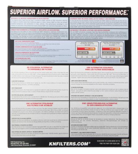 33-2942 K/&N Air Filter fits BMW X1 2.0 Diesel /& 316d//318d//330d//335d /& 1 Series