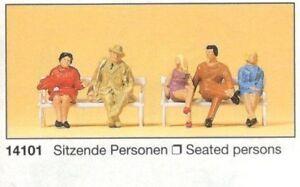 HO - Preiser - ref.14101 - Personas sentadas