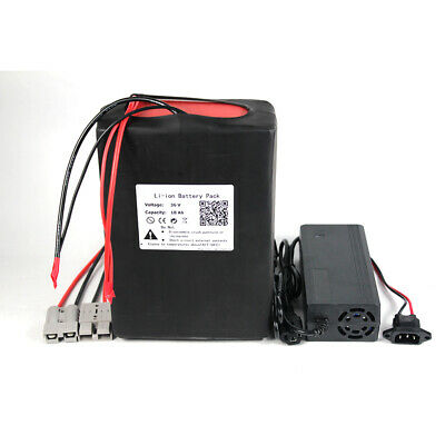 BtrPower 36V18Ah Lithium li-ion Battery Pack for 500W EBike Scooter with Charger