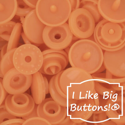 G118 Neon Orange KAM Snaps for Cloth Diapers/Bibs/Crafts/Plastic Snap  Buttons | eBay
