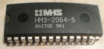 HM1-6562-5 General-Purpose Static RAM Harris Semiconductor 18 Pin Dip