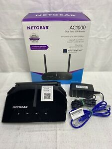 Netgear-AC1000-Dual-Band-Wi-Fi-5-Router-Black-Missing-Quick-Start-Guide