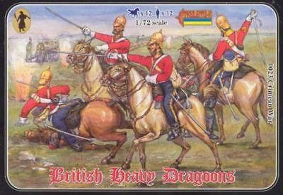 1/72 Dragoni Britannici Pesanti Guerra Di Crimea Strelets 0023 British Dragoons