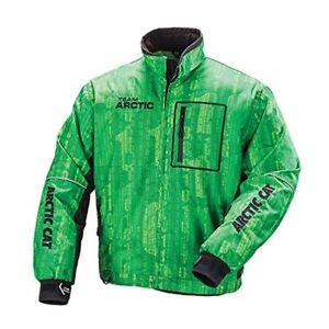 5250-17/_ Arctic Cat Men/'s Freezone Snowmobile Shell Jacket Lime Green
