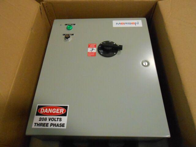 Mersen Part Es2t48r2kgn2b Fusible Shunt Trip Disconnect Switch Ferraz Elevator For Sale Online