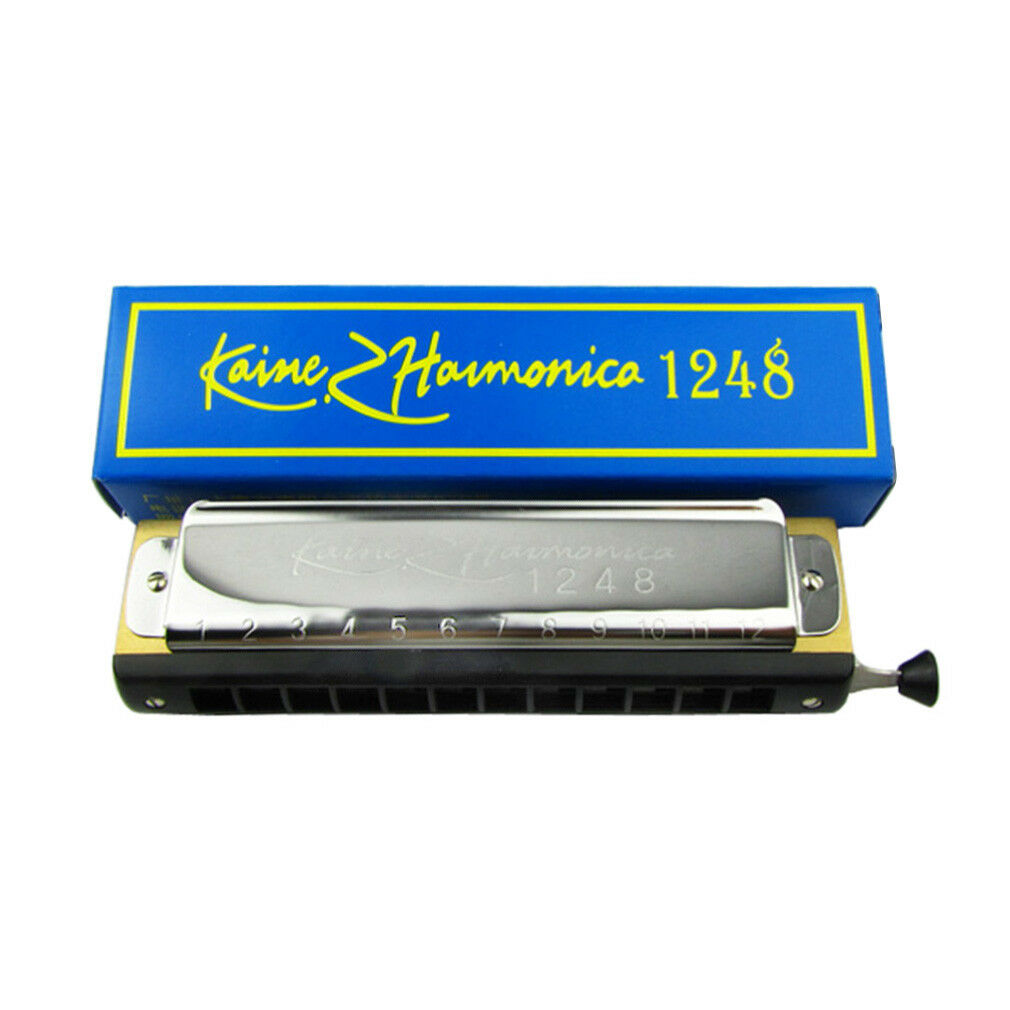 key of C NEW ! Hohner Discovery 48 Chromatic harmonica zip pouch included