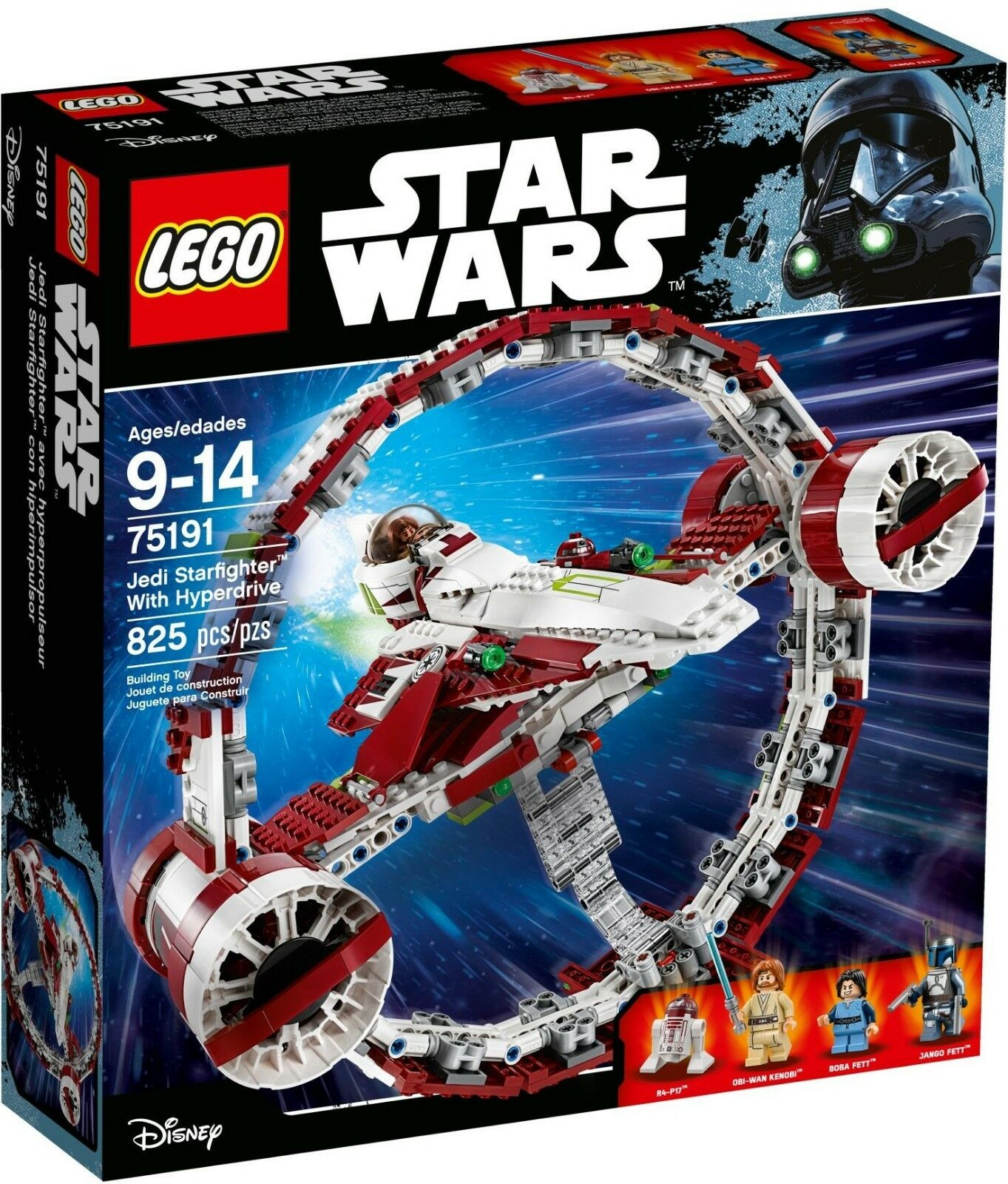 Lego Star Wars - 75191 - Jedi Starfighter avec hyperdrive - NEUF et Scellé