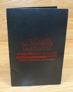 Disney Cruise Ligne Star Wars Voyage Through The Galaxy Dessert & Boissons Menu