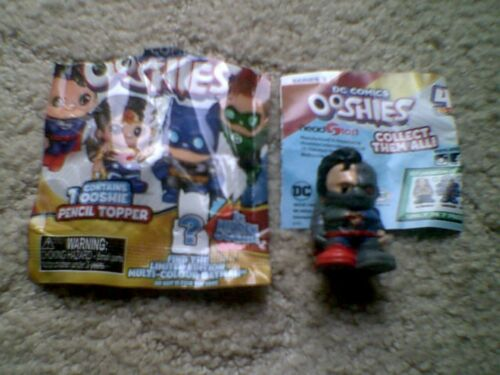 DC Comics ooshies SERIE 1 /& 2 /& 3 pencel Topper-Completa la tua collezione