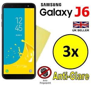 3x-Hq-Matte-Anti-Reflet-Protecteur-d-039-ecran-Cover-Film-Garde-pour-SAMSUNG-GALAXY-J6